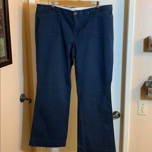 Old Navy Khaki Chino Pants - Navy